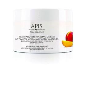 APIS Rewitalizujący peeling morski z ekstr. z mango i trawy cytrynowej 300g