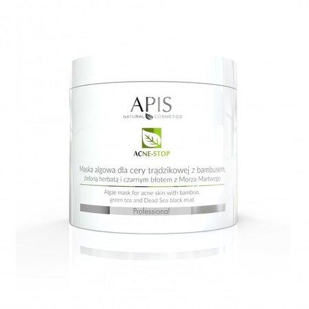 APIS Acne-Stop maska algowa dla cery trądzikowej 250g (1)