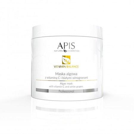 APIS Vitamin Balance maska algowa wit. C + białe winogrona 250g (1)