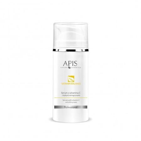 APIS Vitamin Balance serum z  wit. C + białe winogrona 100ml (1)