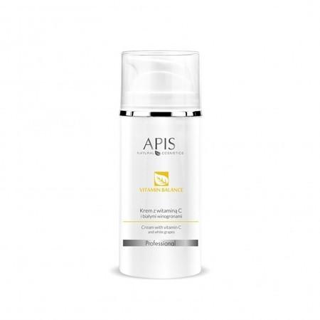 APIS Vitamin Balance krem z wit. C  i białymi winogronami 100ml (1)
