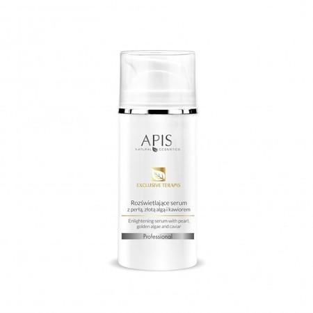 APIS Exclusive terApis rozświetlające serum z perłą, złotą algą i kawiorem 100ml (1)