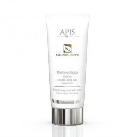 APIS Exclusive terApis rozświetlająca maska z perłą, złotą algą i kawiorem 200ml