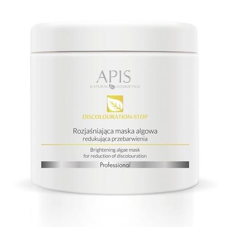 APIS Maska Algowa rozjaśniająca, redukująca przebarwienia 250g (1)