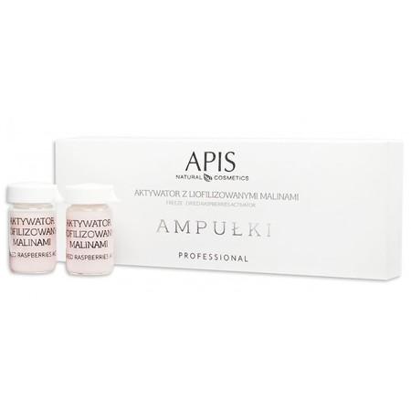 APIS AMPUŁKI Aktywator z liofilizowanymi malinami 5szt. (1)