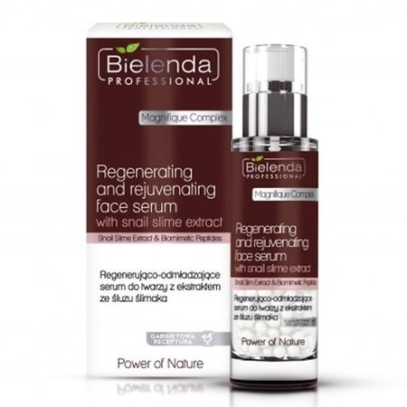 BIELENDA Regenerująco - odmładzające serum do twarzy ze śluzem ślimaka 30g (1)