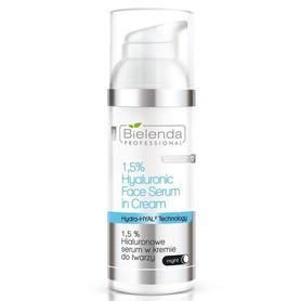 BIELENDA 1,5 % Hialuronowe serum w kremie do twarzy 50g