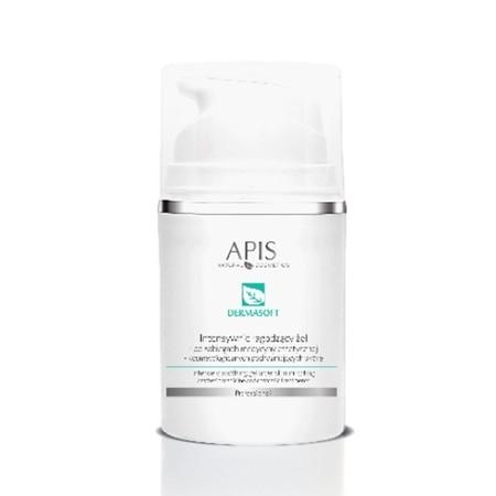 APIS Dermasoft Intensywnie łagodzący żel po zabiegach podrażniających skórę 50ml (1)