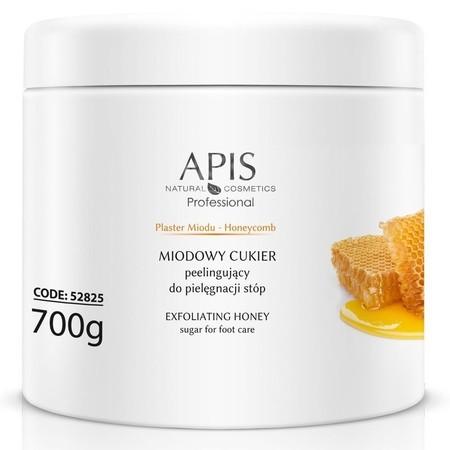 APIS Plaster Miodu miodowy cukier peelingujący do stóp 700g (1)