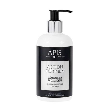 APIS Action for Men - Odżywczy krem do ciała i dłoni 300ml (1)