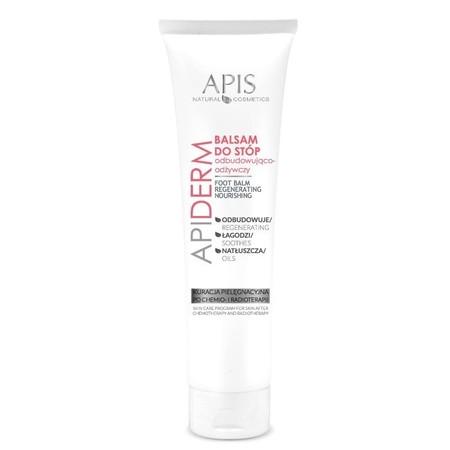 APIS APIDERM Balsam odbudowująco-odżywczy do stóp po chemio- i radioterapii 100 ml (1)
