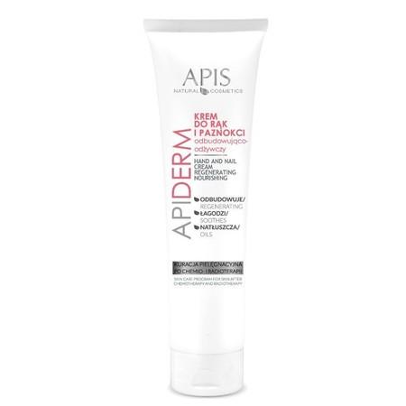 APIS APIDERM Krem odbudowująco-odżywczy do rąk i paznokci po chemio- i radioterapii 100ml (1)