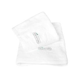 BIELENDA Ręcznik frotte z LOGO 50 x 100 - biały