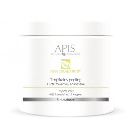 APIS Tropikalny peeling z liofilizowanymi ananasami 650g