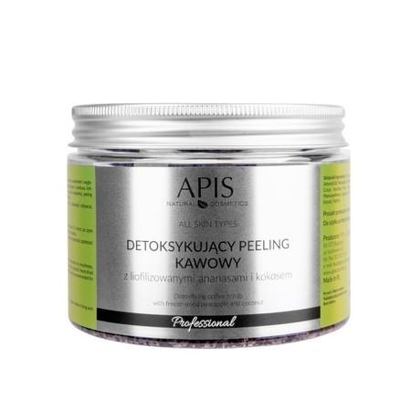 APIS Detoksujący  peeling kawowy Ananas 300g (1)
