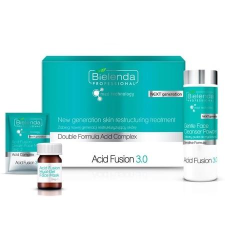 BIELENDA Acid Fusion 3.0 Zabieg nowej generacji restrukturyzujący skórę set na 5 zabiegów (1)