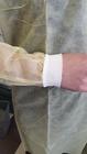 Fartuch polipropylenowy z mankietami 10 sztuk