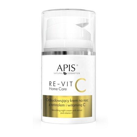 APIS RE-VIT C HOME CARE Odbudowujący krem na noc z retinolem i witaminą C 50ml