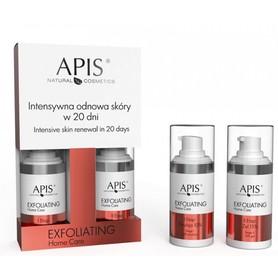 APIS EXFOLIATING HOME CARE Intensywna odnowa skóry w 20 dni 2x15ml