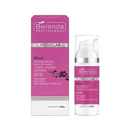 BIELENDA SUPREMELAB Essence of Asia Glow! Antyoksydacyjny krem do twarzy z olejem z Kamelii Japońskiej SPF 20 50 ml