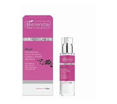 BIELENDA SUPREMELAB Essence of Asia GLOW! Rewitalizujące serum do twarzy z olejem z Kamelii Japońskiej 30ml
