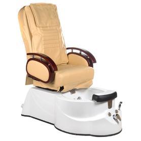 Fotel do pedicure z masażem BR-3820D Beżowy