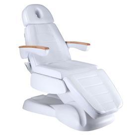 Fotel kosmetyczny elektryczny LUX BW-273B Biały