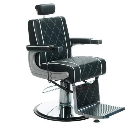 Fotel barberski ODYS BH-31825M Czarny