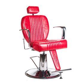 Fotel barberski OLAF BH-3273 Czerwony