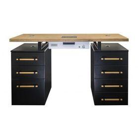 Biurko Moderno Duo 1 Z Pochłaniaczem Vento Pro+
