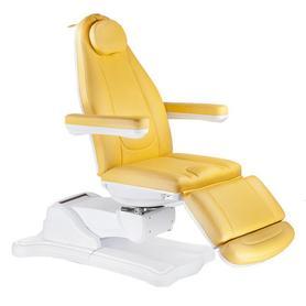 Elektryczny fotel kosmetyczny Mazaro BR-6672B Miodowy