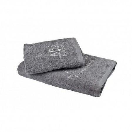 APIS Ręcznik frotte z logo 50x100 – szary (1)