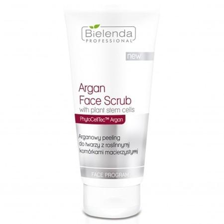 BIELENDA Arganowy peeling do twarzy z komórkami macierzystymi 150g (1)