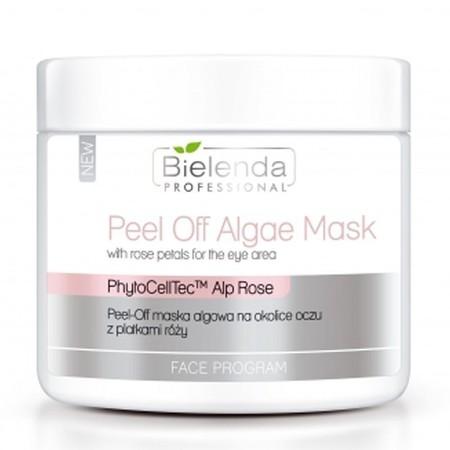 BIELENDA Peel-off maska algowa na okolice oczu z płatkami róży 90g (1)
