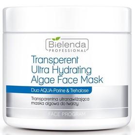 BIELENDA Transparentna ultranawilżająca maska algowa do twarzy 190g