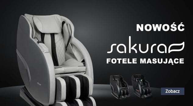 Sakura fotele z masażem